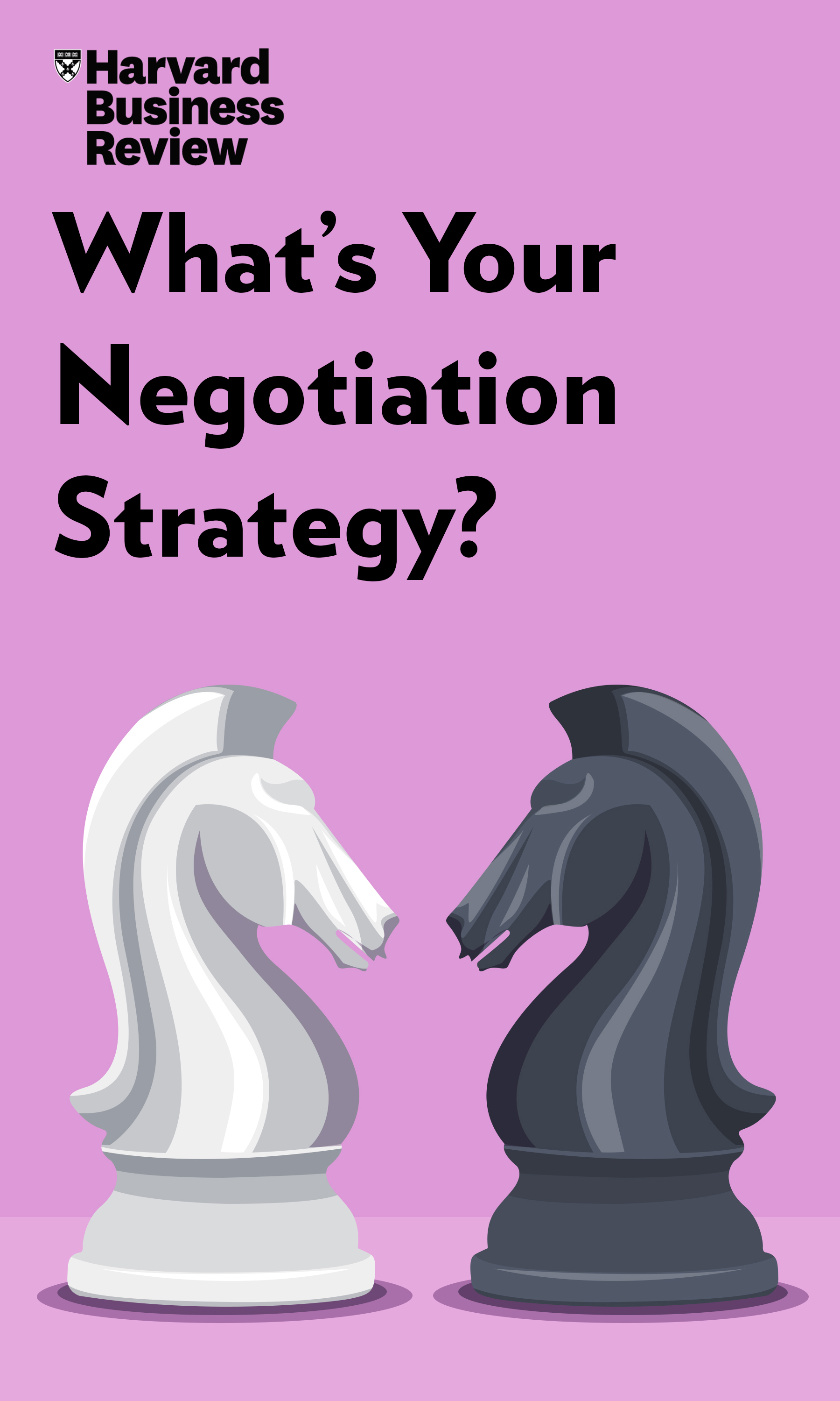 "Book Cover for ""What's Your Negotiation Strategy?"""