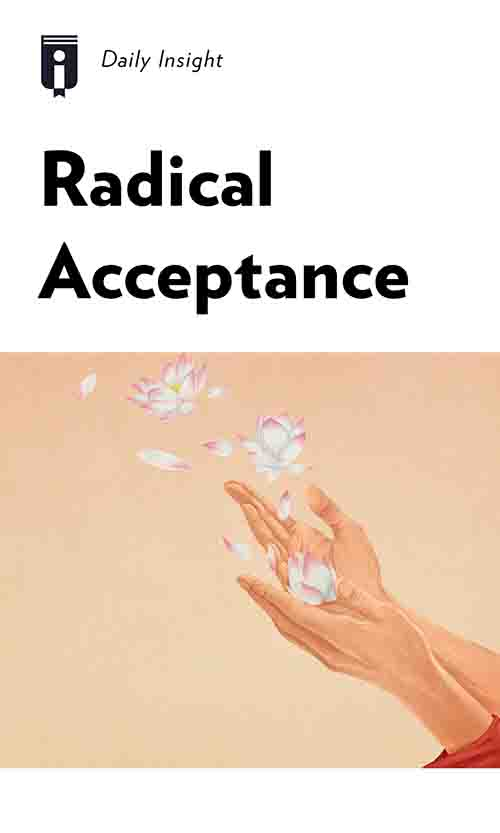 "Book Cover for ""Radical Acceptance"""