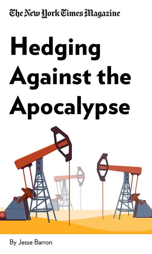 "Book Cover for ""Hedging Against The Apocalypse"""