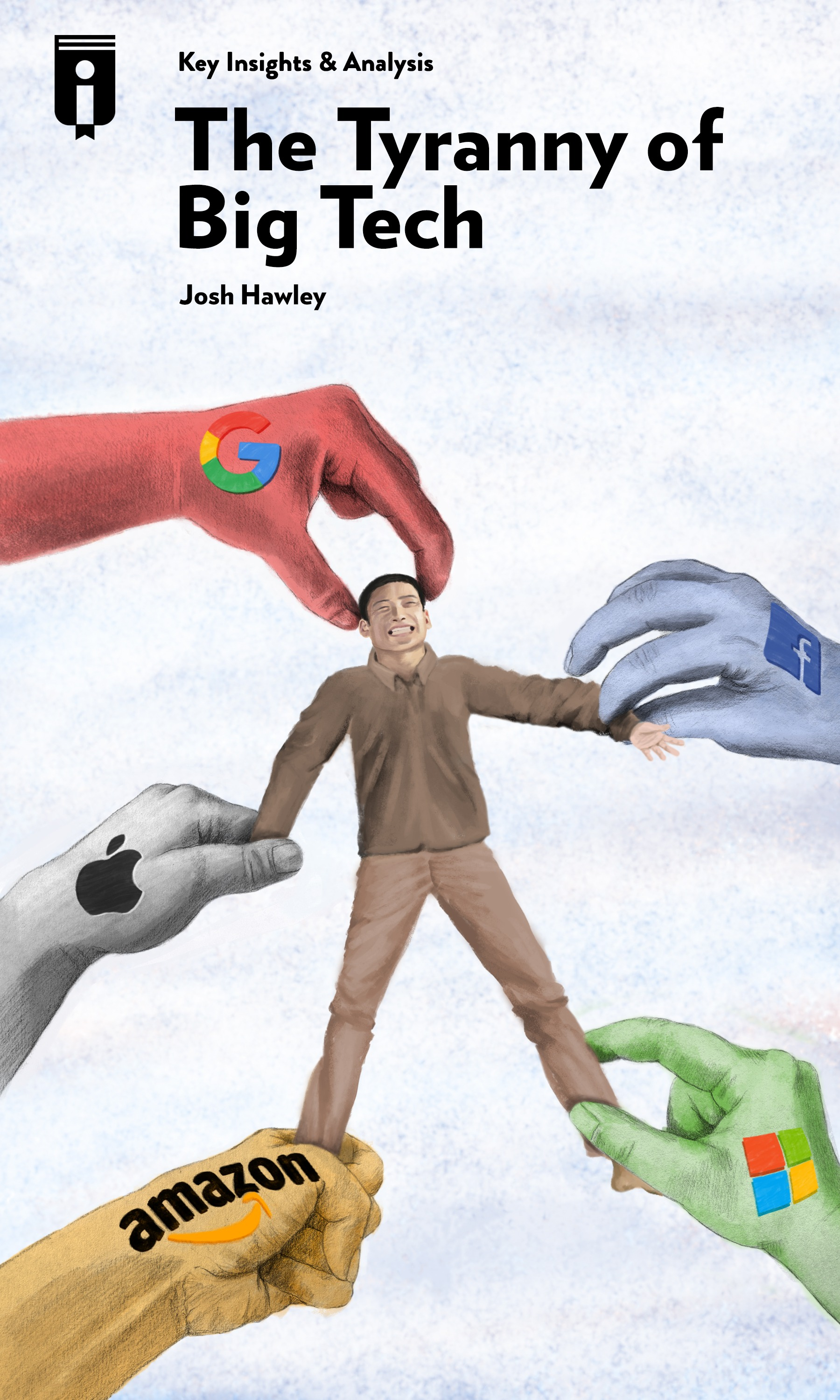 """Book Cover for """"The Tyranny of Big Tech"""""""