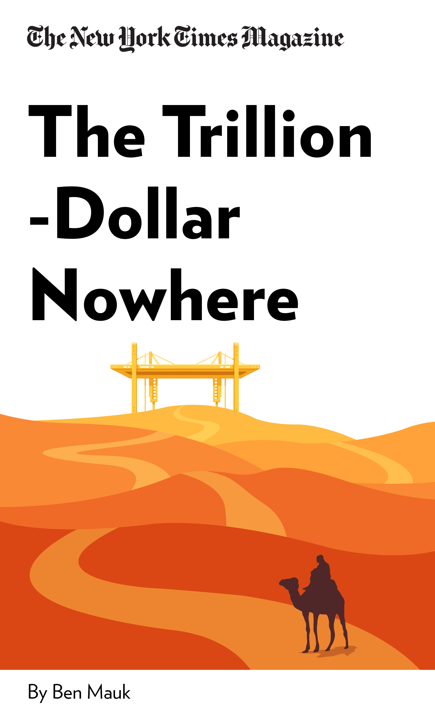 """Book Cover for """"The Trillion-Dollar Nowhere"""""""