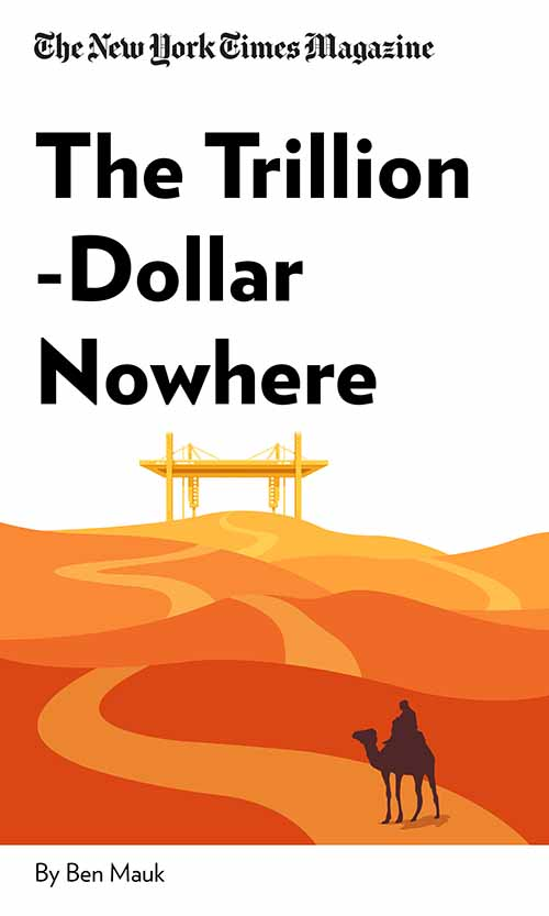 "Book Cover for ""The Trillion-Dollar Nowhere"""