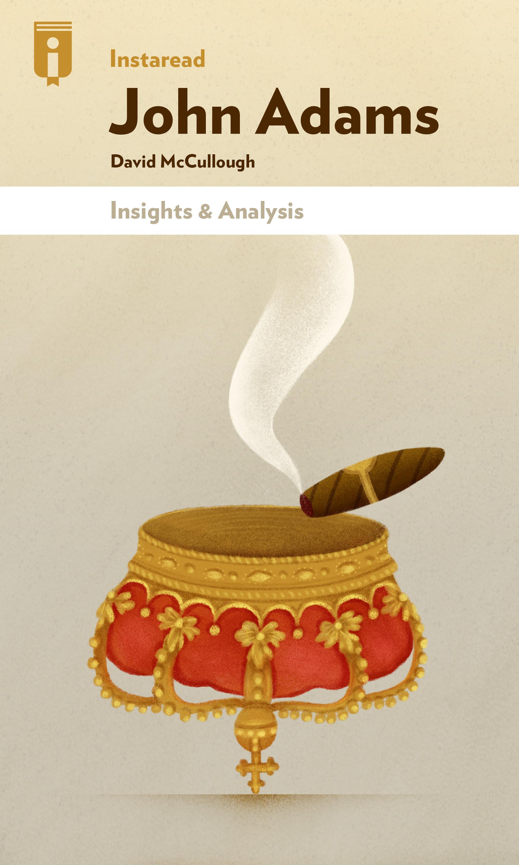 """Book Cover for """"John Adams"""""""