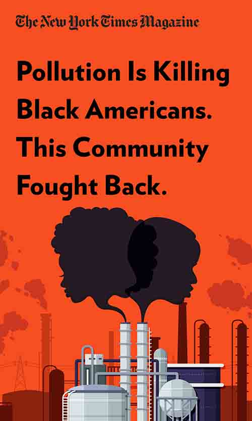 "Book Cover for ""Pollution Is Killing Black Americans. This Community Fought Back."""