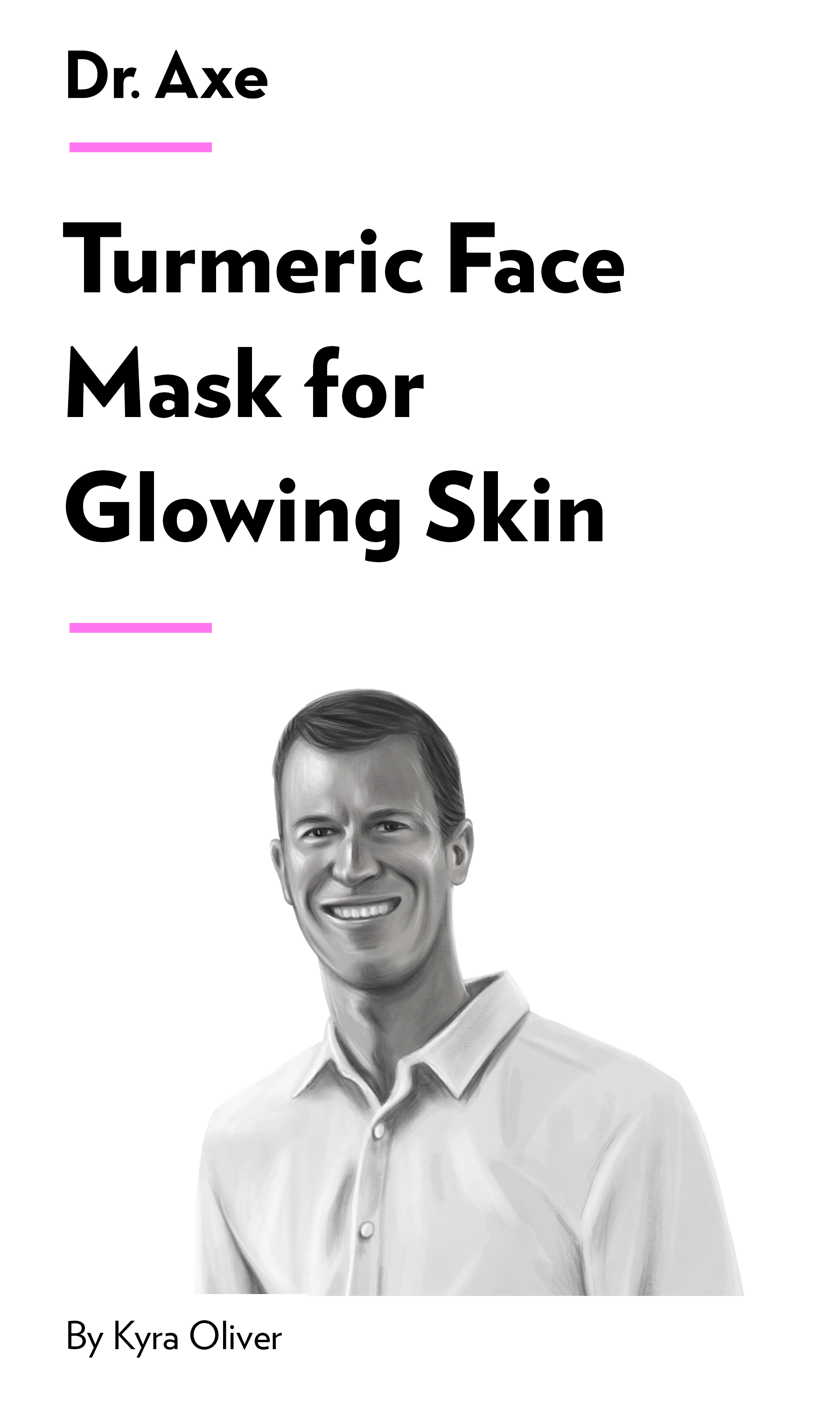 """Book Cover for """"Turmeric Face Mask for Glowing Skin"""""""