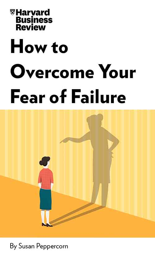 "Book Cover for ""How to Overcome Your Fear of Failure"""