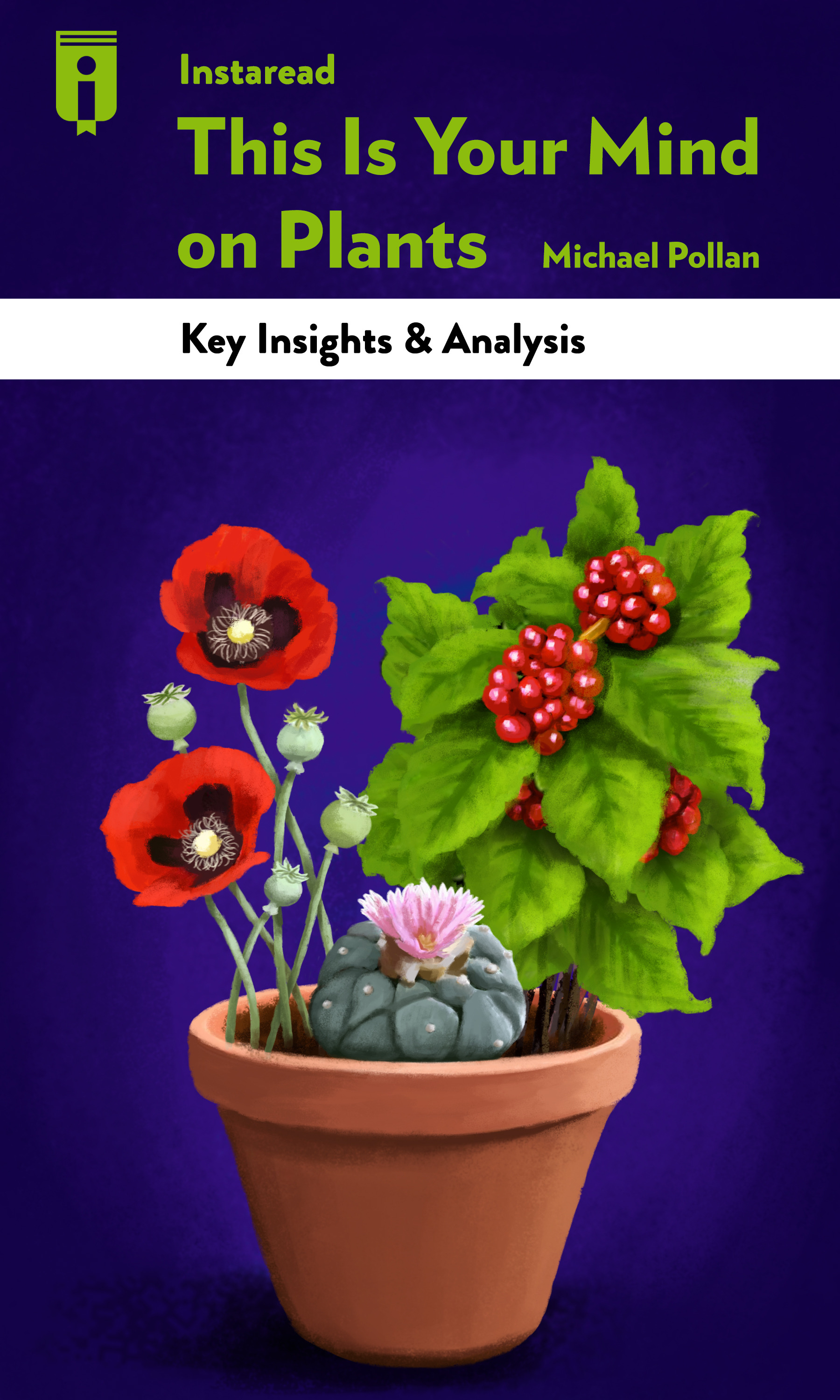 """Book Cover for """"This Is Your Mind on Plants"""""""