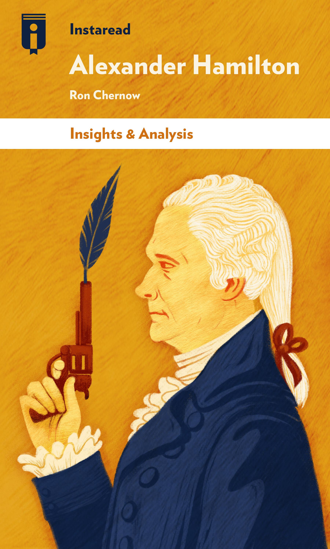 """Book Cover for """"Alexander Hamilton"""""""