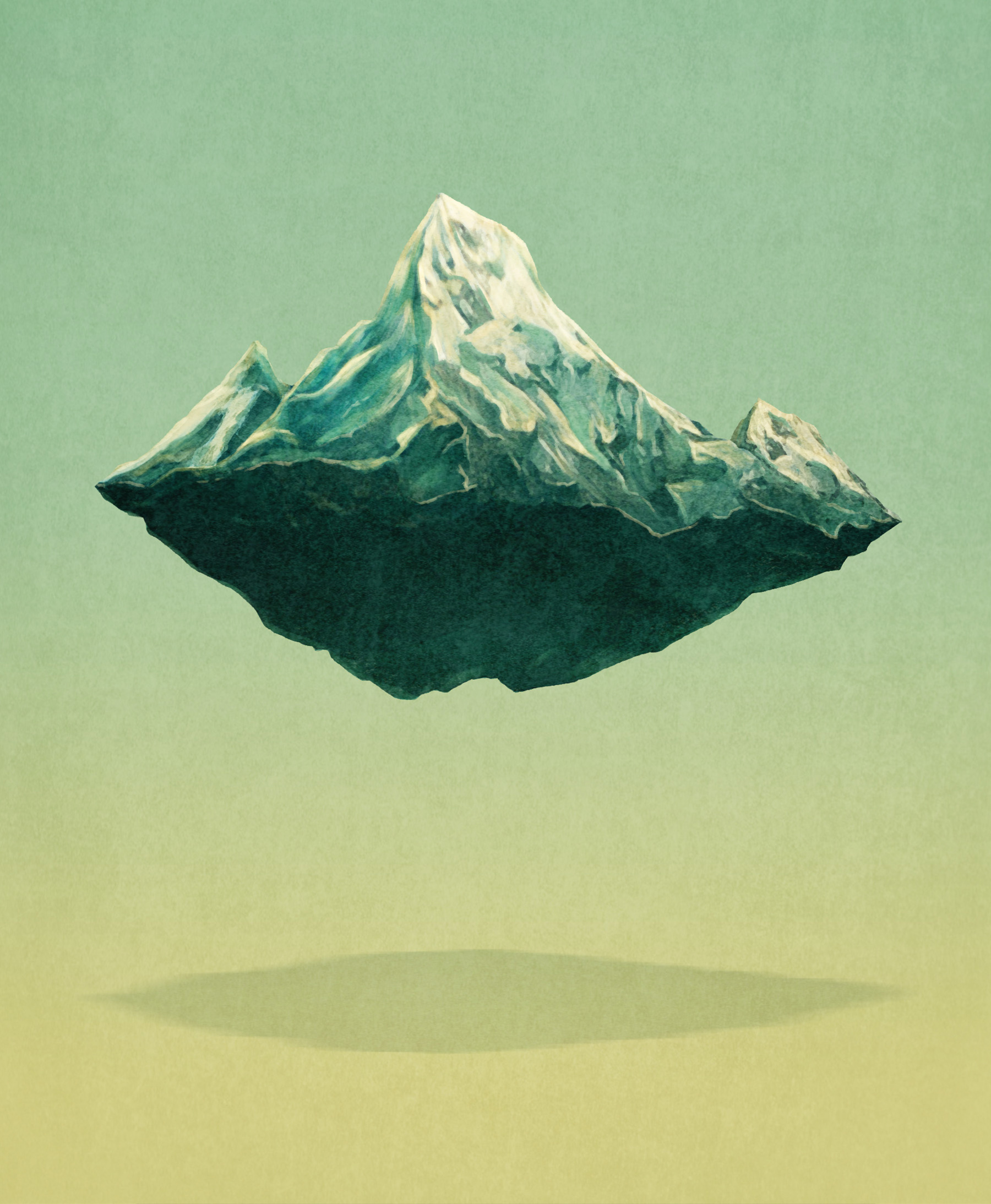 """Book Cover for """"The Second Mountain"""""""