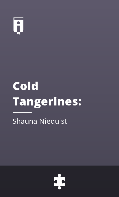 """Book Cover for """"Cold Tangerines: Celebrating the Extraordinary Nature of Everyday Life"""""""