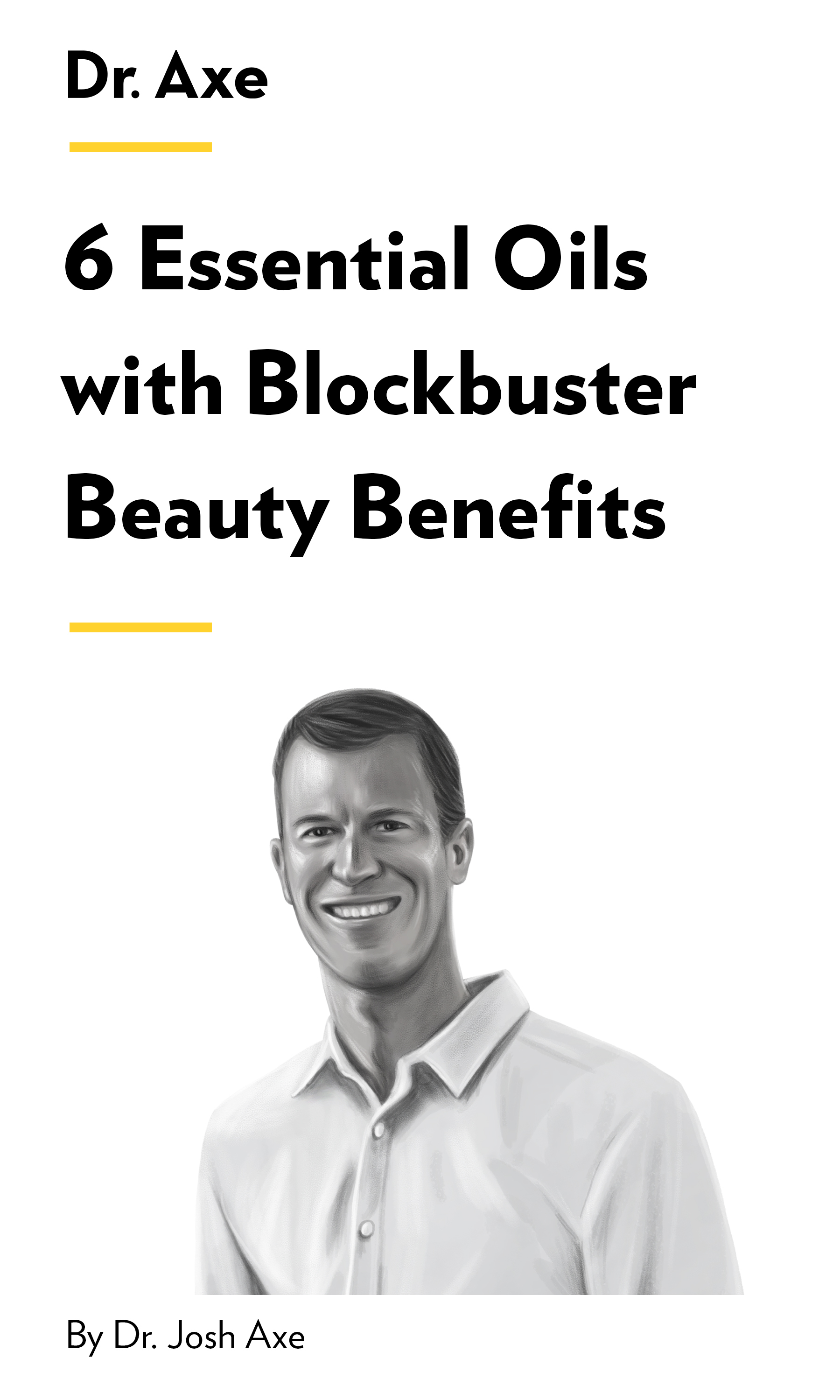 """Book Cover for """"6 Essential Oils with Blockbuster Beauty Benefits"""""""