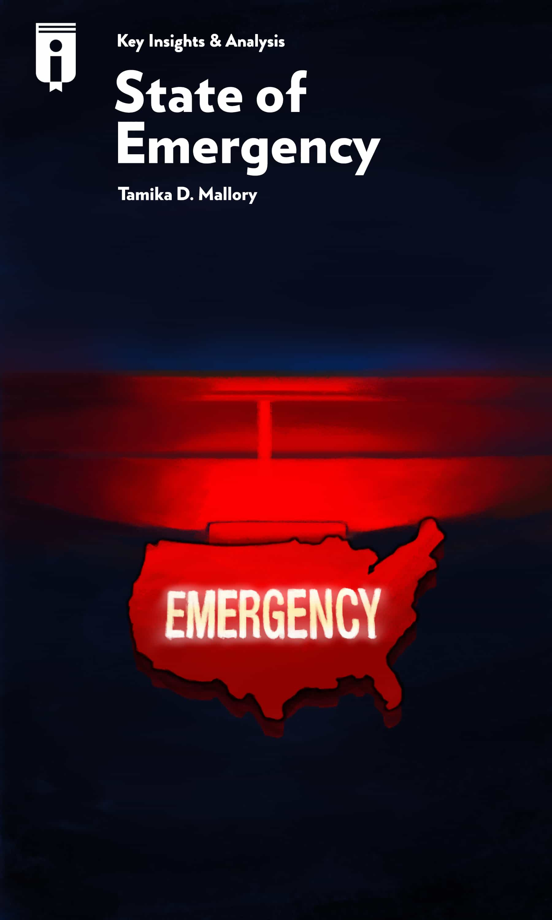 """Book Cover for """"State of Emergency"""""""