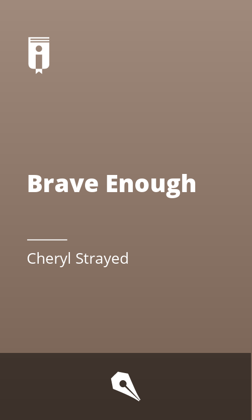 """Book Cover for """"Brave Enough"""""""