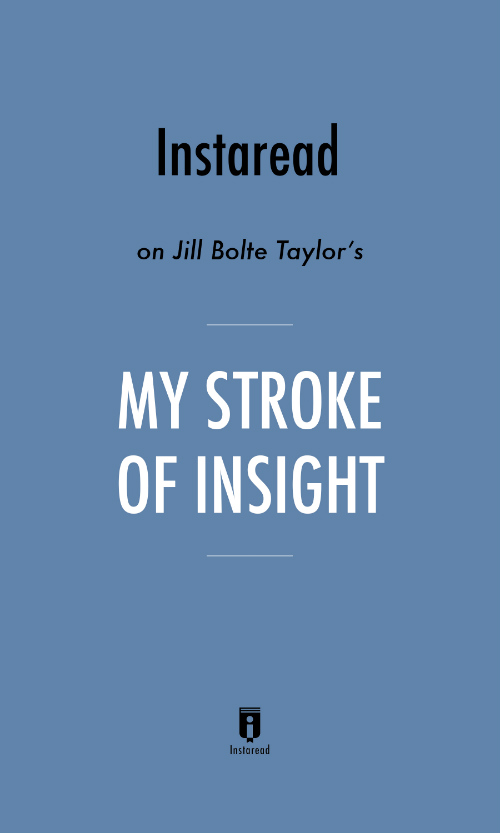 "Book Cover for ""My Stroke of Insight"""