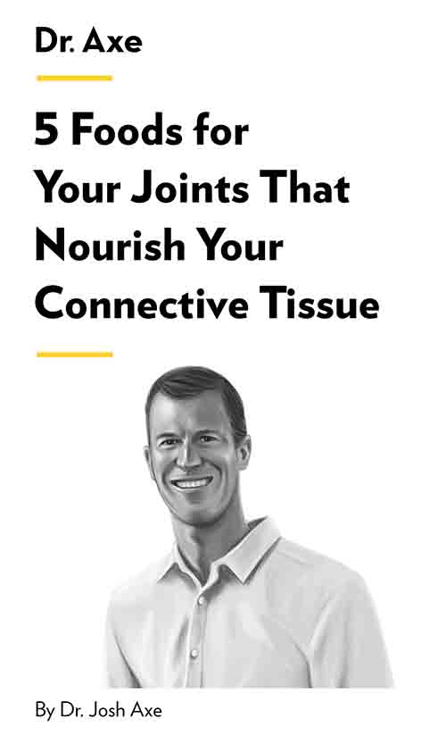 "Book Cover for ""5 Foods for Your Joints That Nourish Your Connective Tissue"""