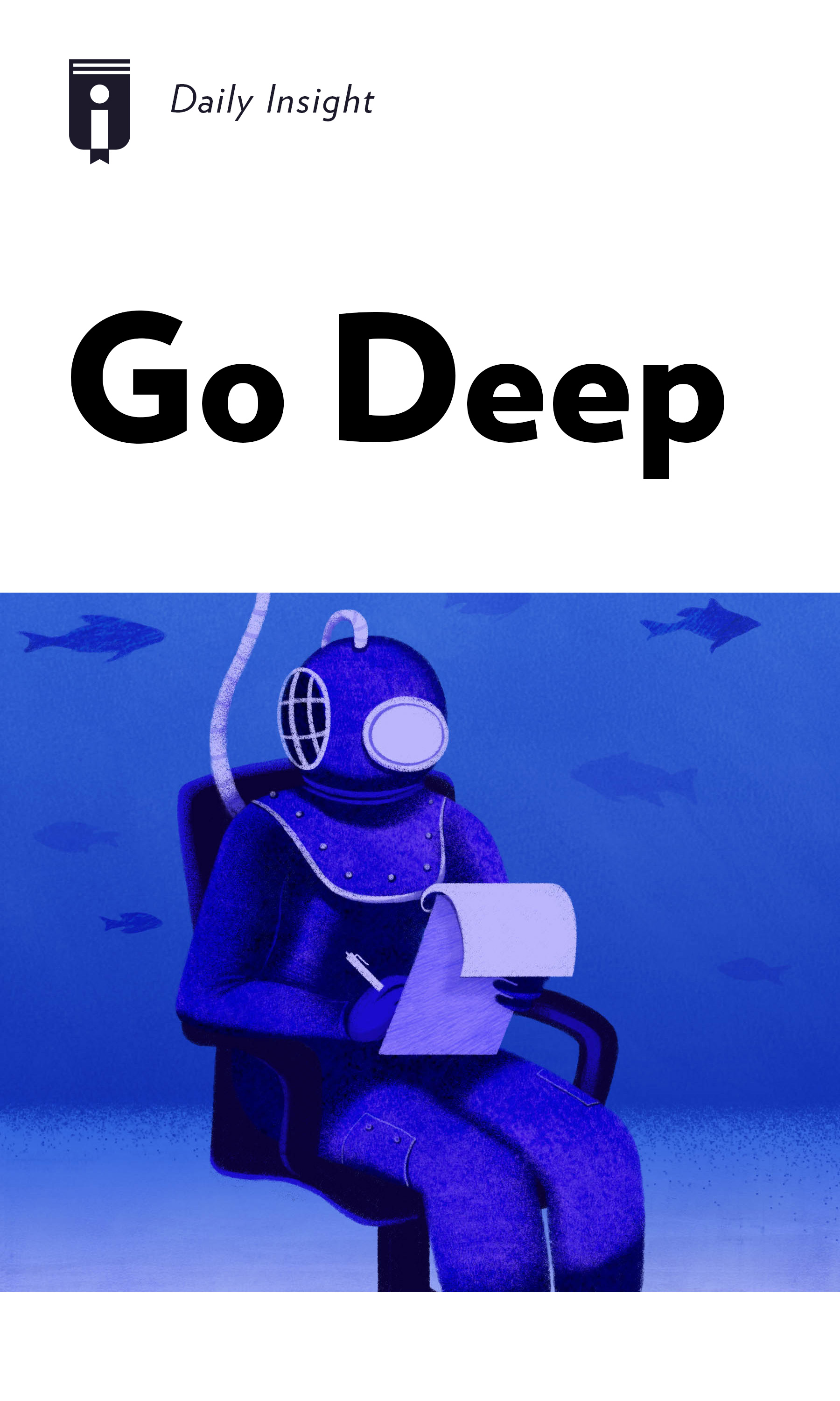 """Book Cover for """"Go Deep"""""""
