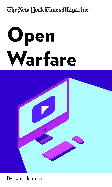"""Book Cover for """"Open Warfare"""""""