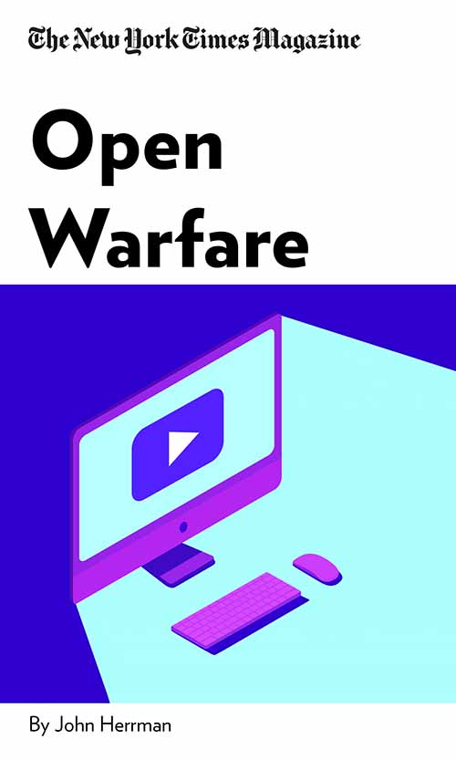 "Book Cover for ""Open Warfare"""