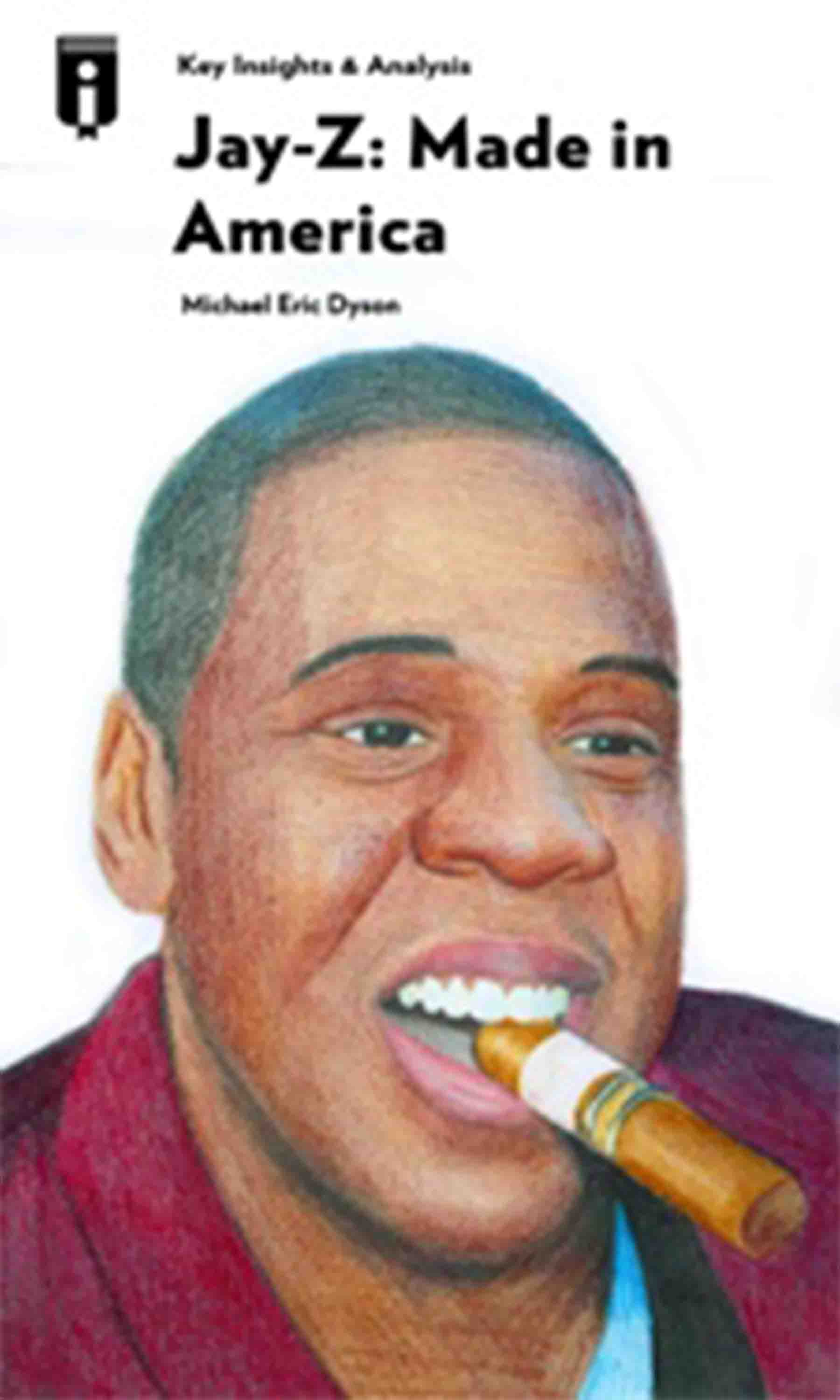 "Book Cover for ""Jay-Z: Made in America"""