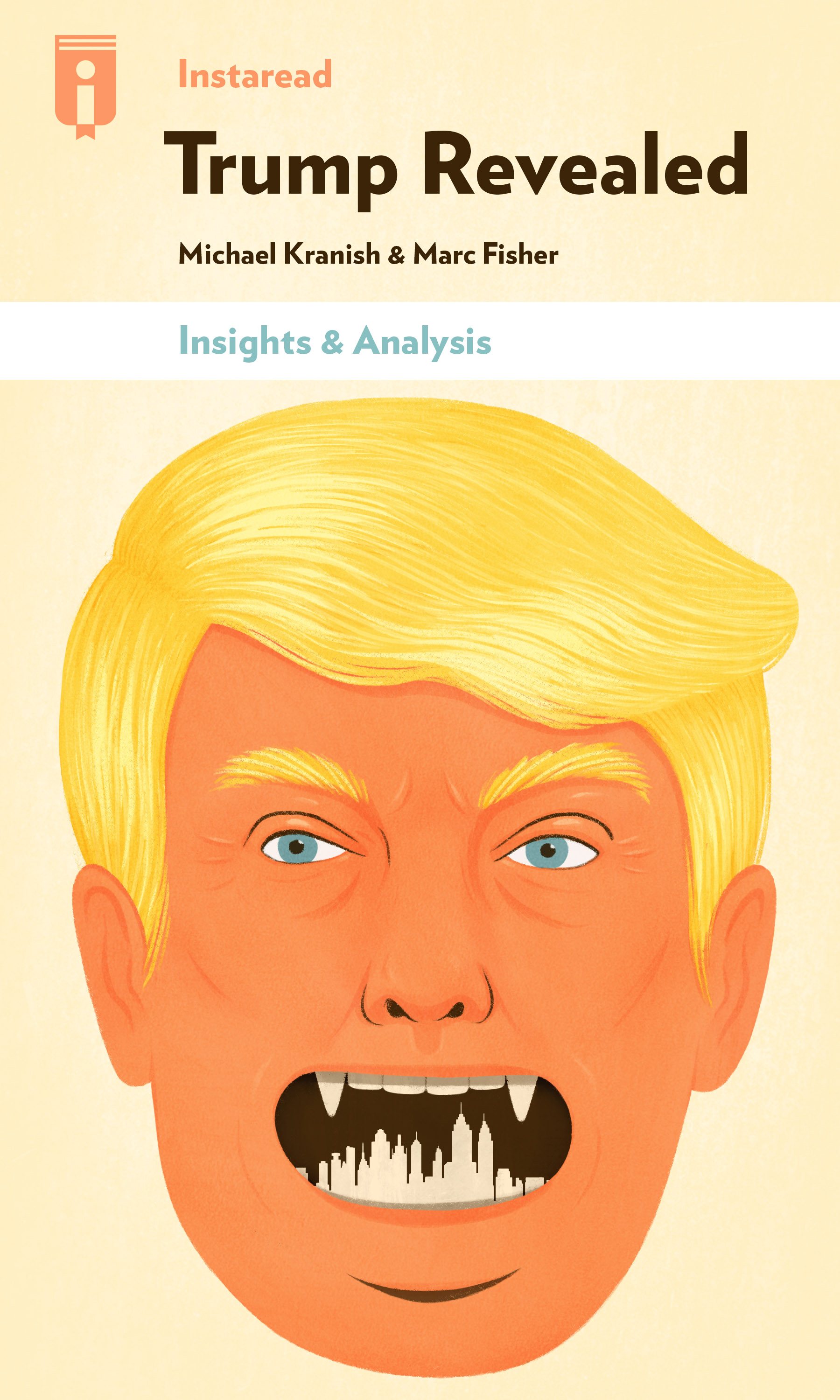 "Book Cover for ""Trump Revealed"""