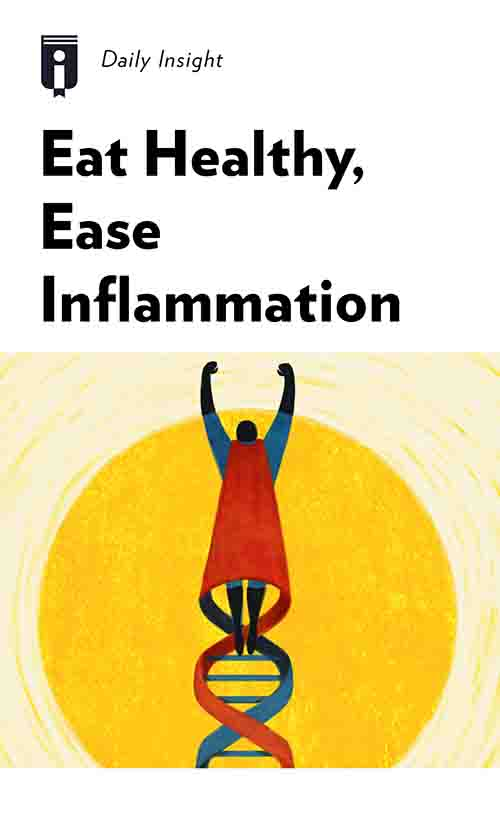 "Book Cover for ""Eat Healthy, Ease Inflammation"""