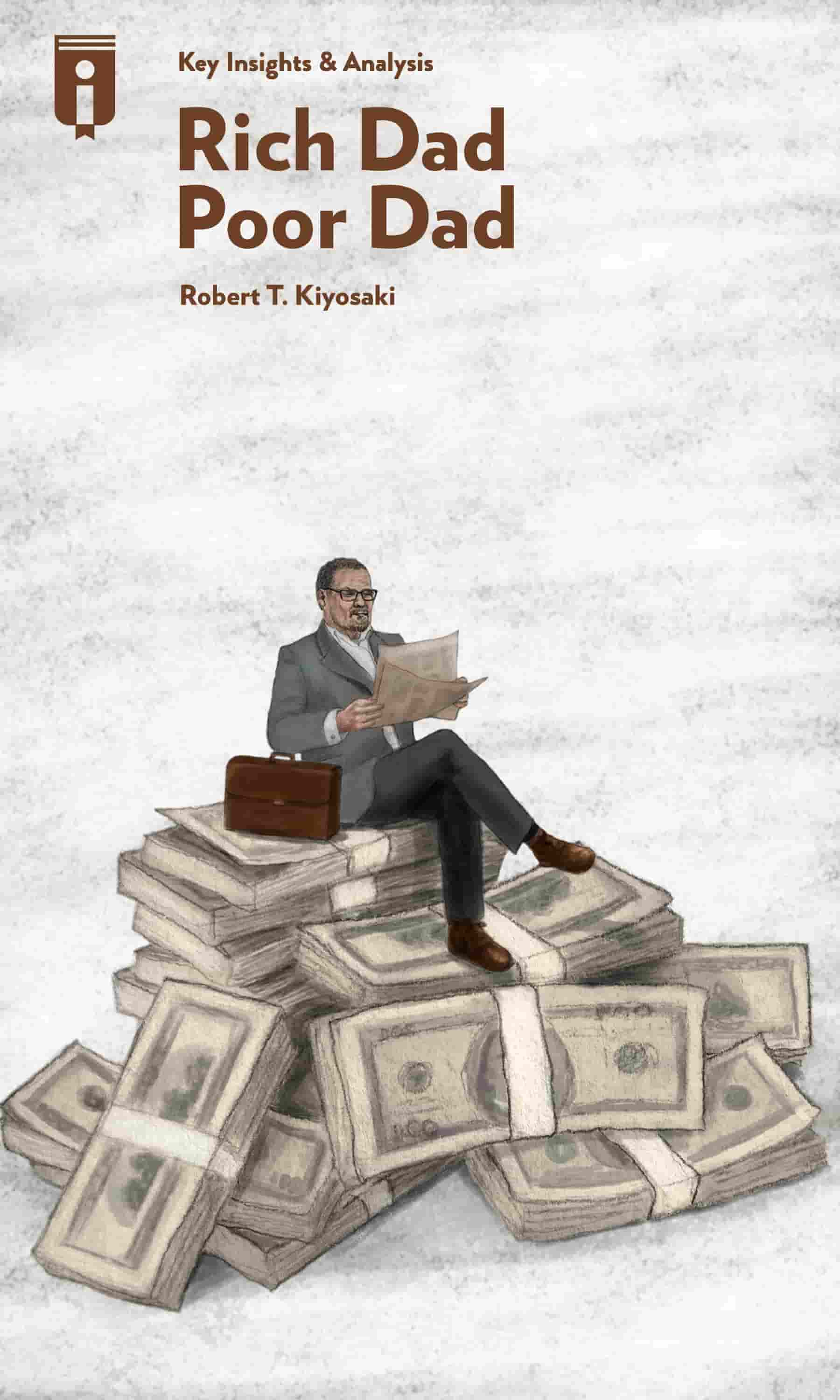 "Book Cover for ""Rich Dad Poor Dad"""