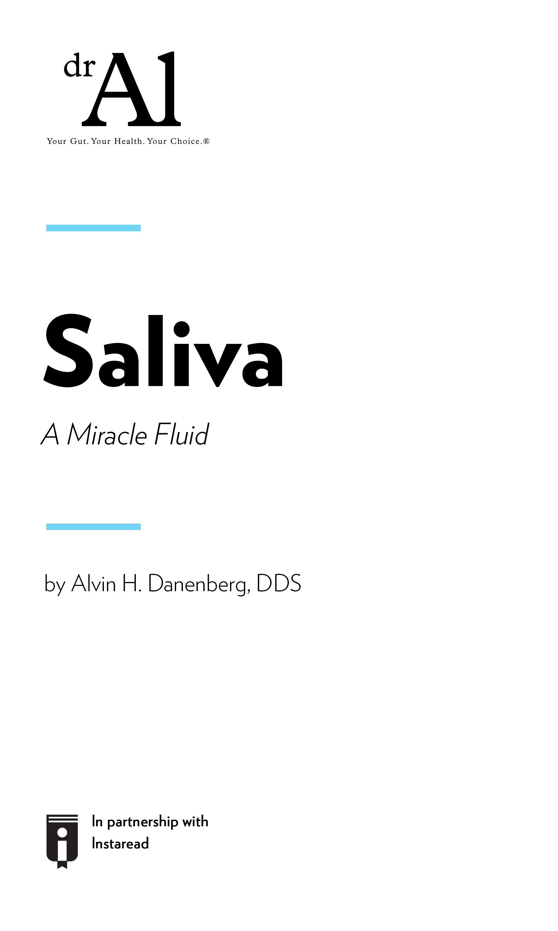 """Book Cover for """"SALIVA – A Miracle Fluid –"""""""