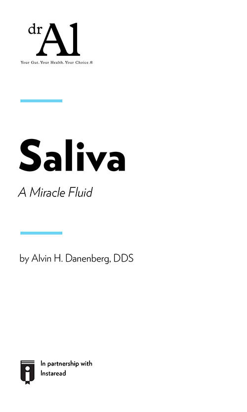 "Book Cover for ""SALIVA – A Miracle Fluid –"""