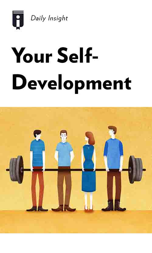 "Book Cover for ""Your Self-Development"""