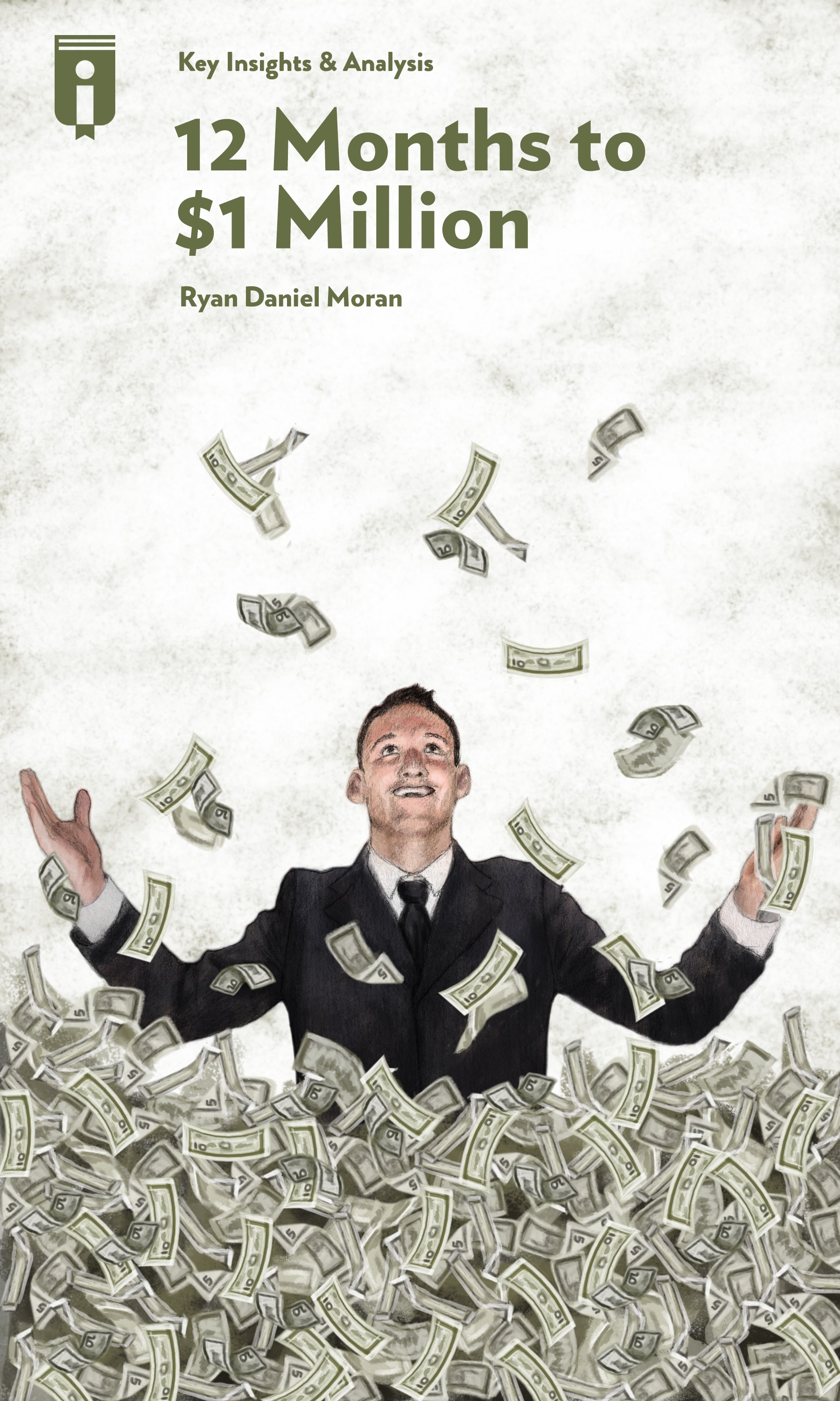 "Book Cover for ""12 Months to $1 Million"""