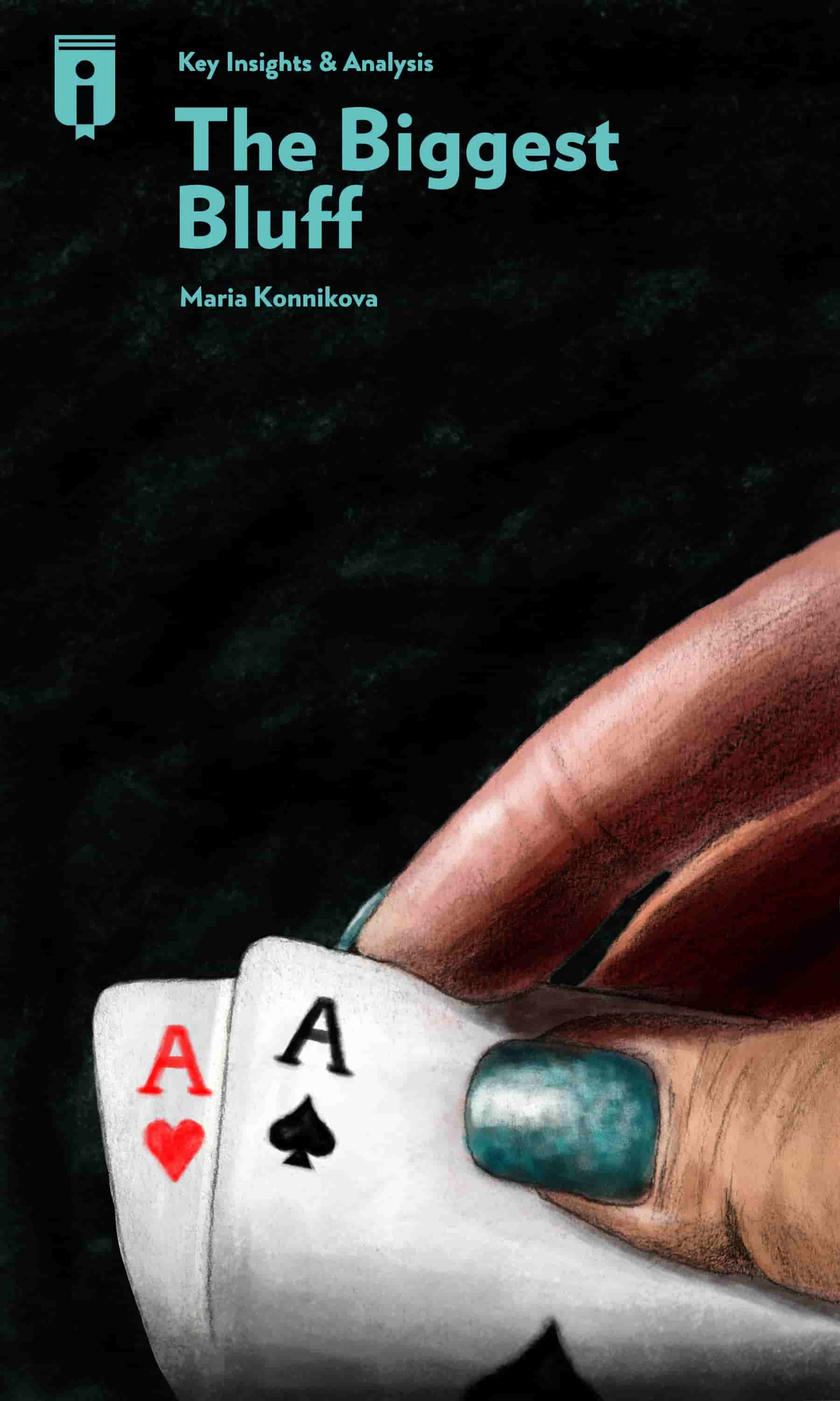 "Book Cover for ""The Biggest Bluff"""