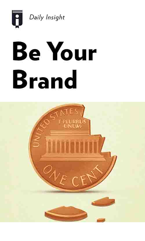 "Book Cover for ""Be Your Brand"""