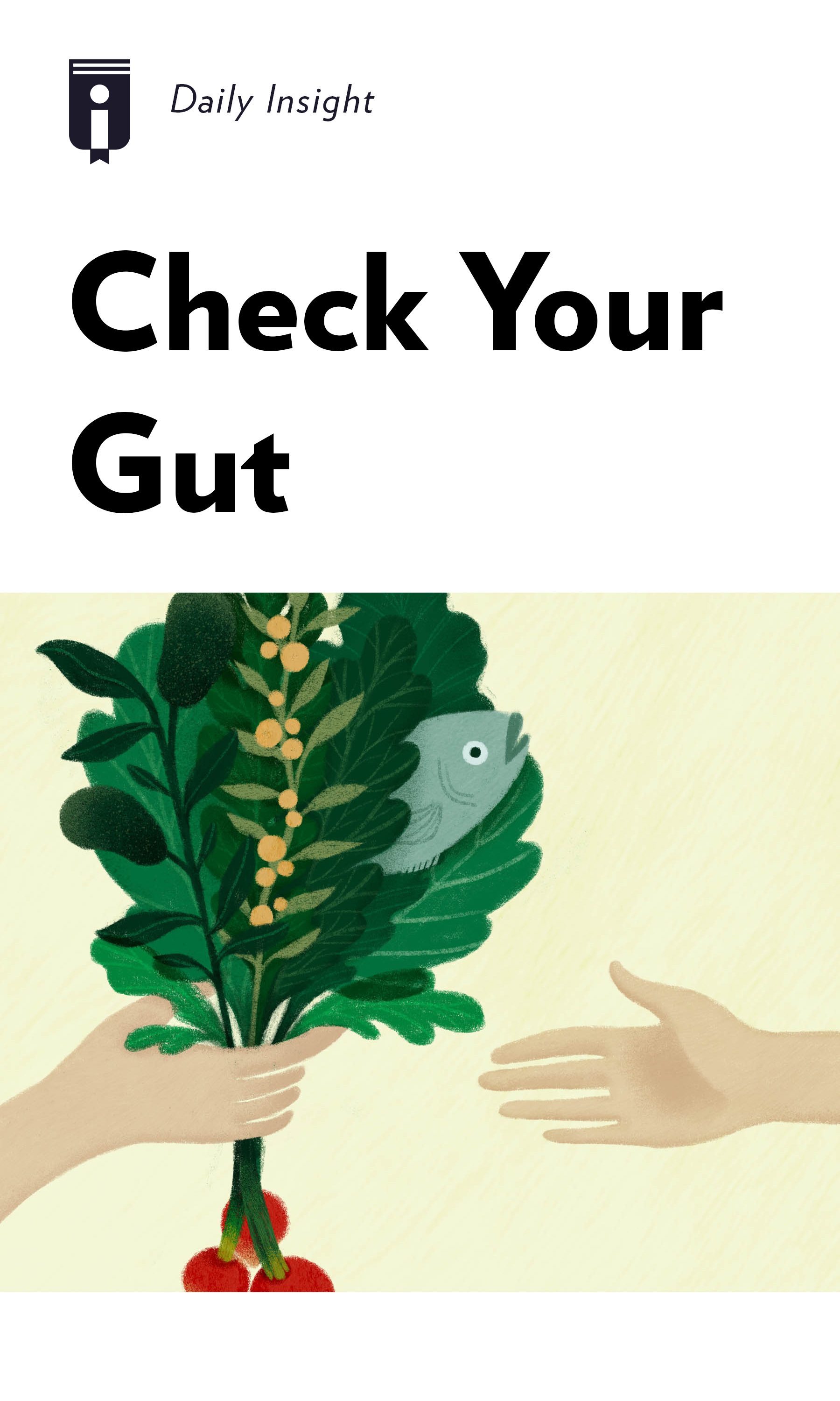 """Book Cover for """"Check Your Gut"""""""