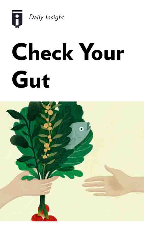 "Book Cover for ""Check Your Gut"""