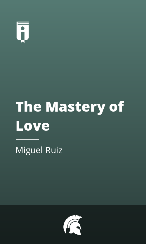 "Book Cover for ""The Mastery of Love"""