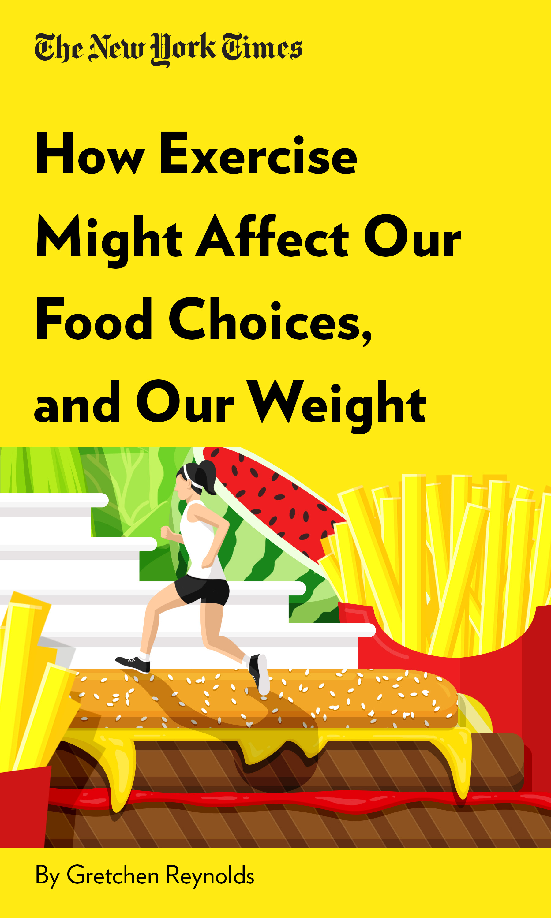 """Book Cover for """"How Exercise Might Affect Our Food Choices, and Our Weight"""""""