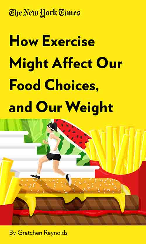 "Book Cover for ""How Exercise Might Affect Our Food Choices, and Our Weight"""