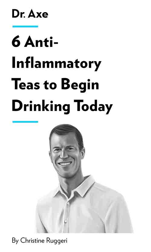 "Book Cover for ""6 Anti-Inflammatory Teas to Begin Drinking Today"""