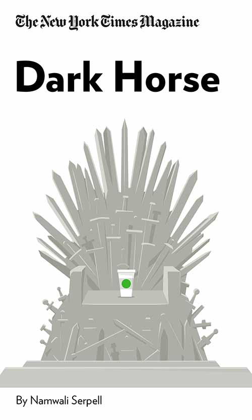 "Book Cover for ""Dark Horse"""