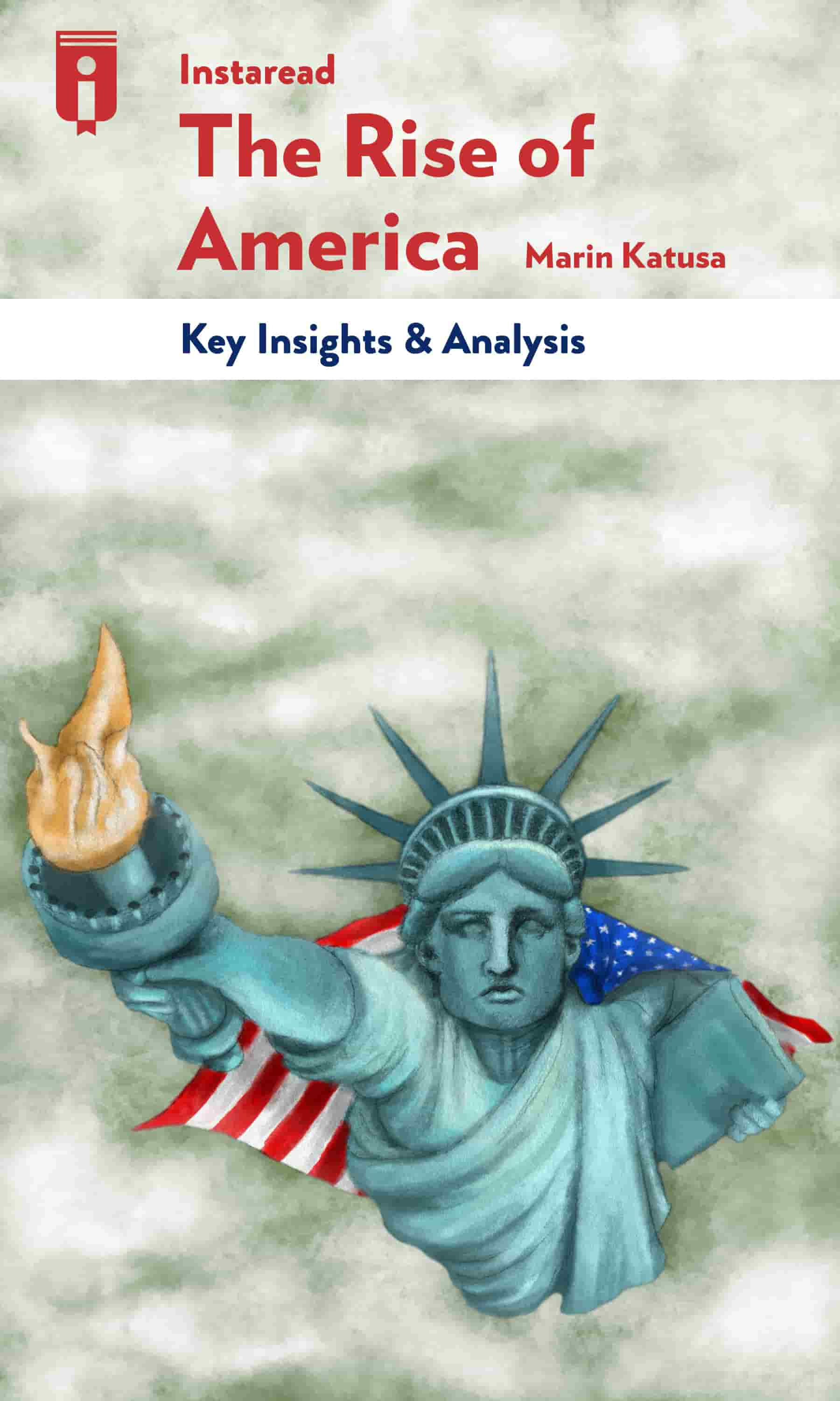 """Book Cover for """"The Rise of America"""""""
