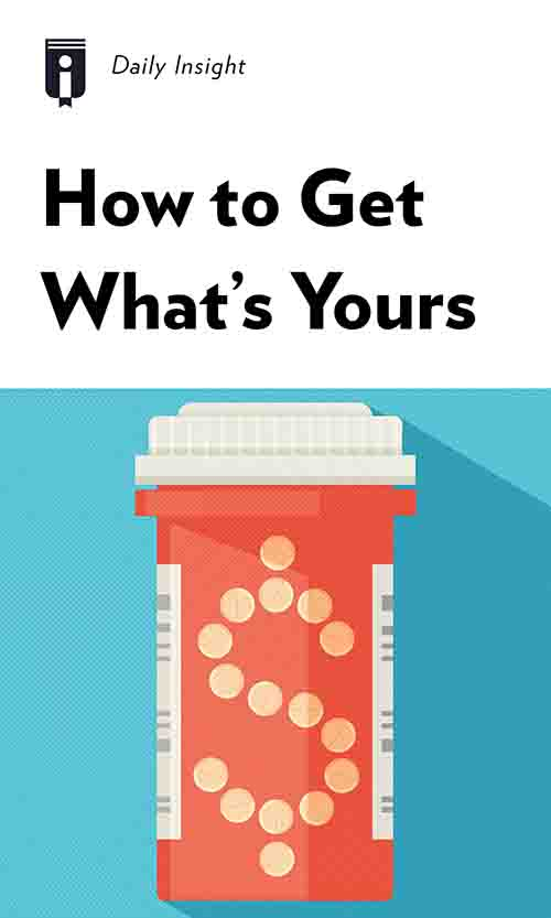 "Book Cover for ""How to Get What's Yours"""