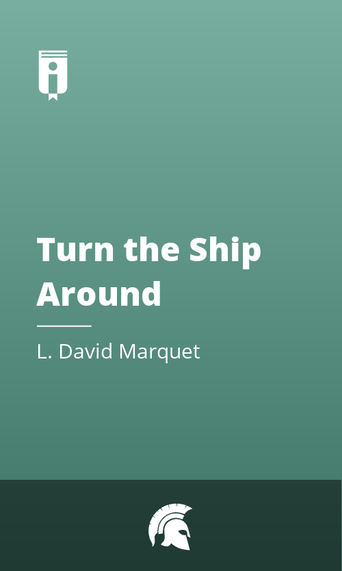 """Book Cover for """"Turn the Ship Around"""""""
