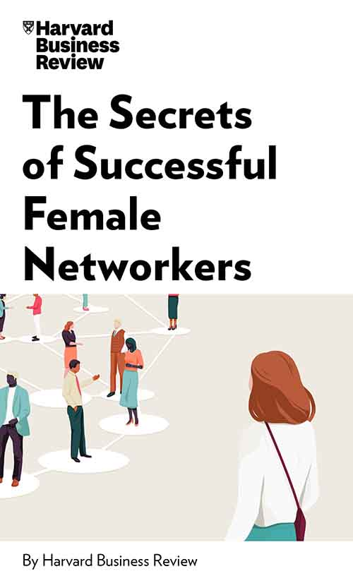 "Book Cover for ""The Secrets of Successful Female Networkers"""