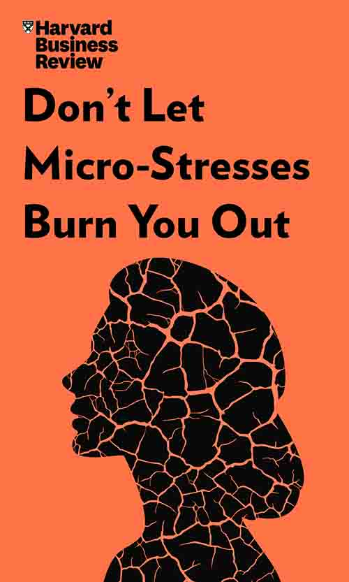"Book Cover for ""Don't Let Micro-Stresses Burn You Out"""