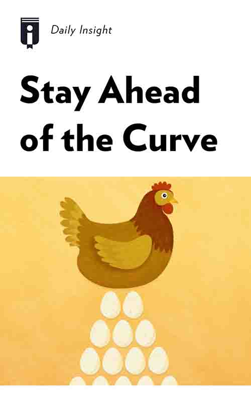 "Book Cover for ""Stay Ahead of the Curve"""
