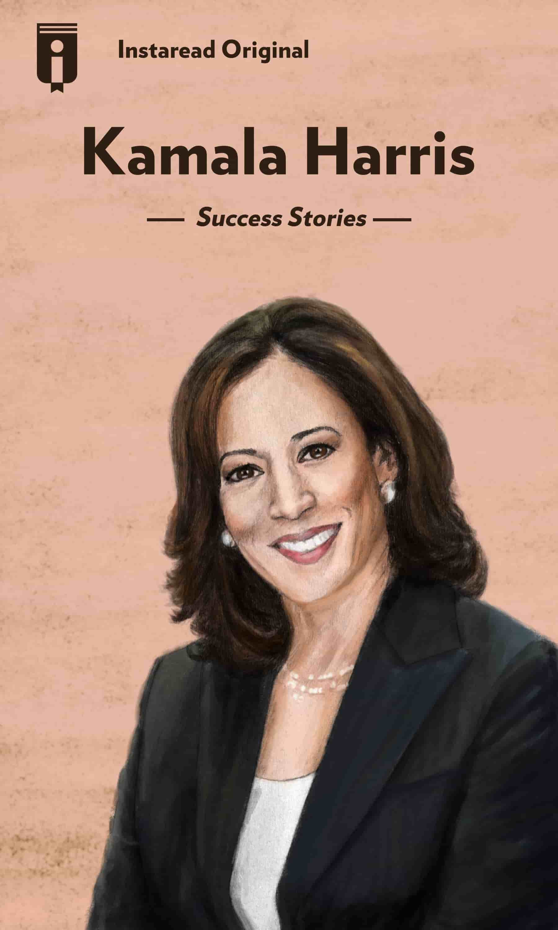 "Book Cover for ""Kamala Harris"""