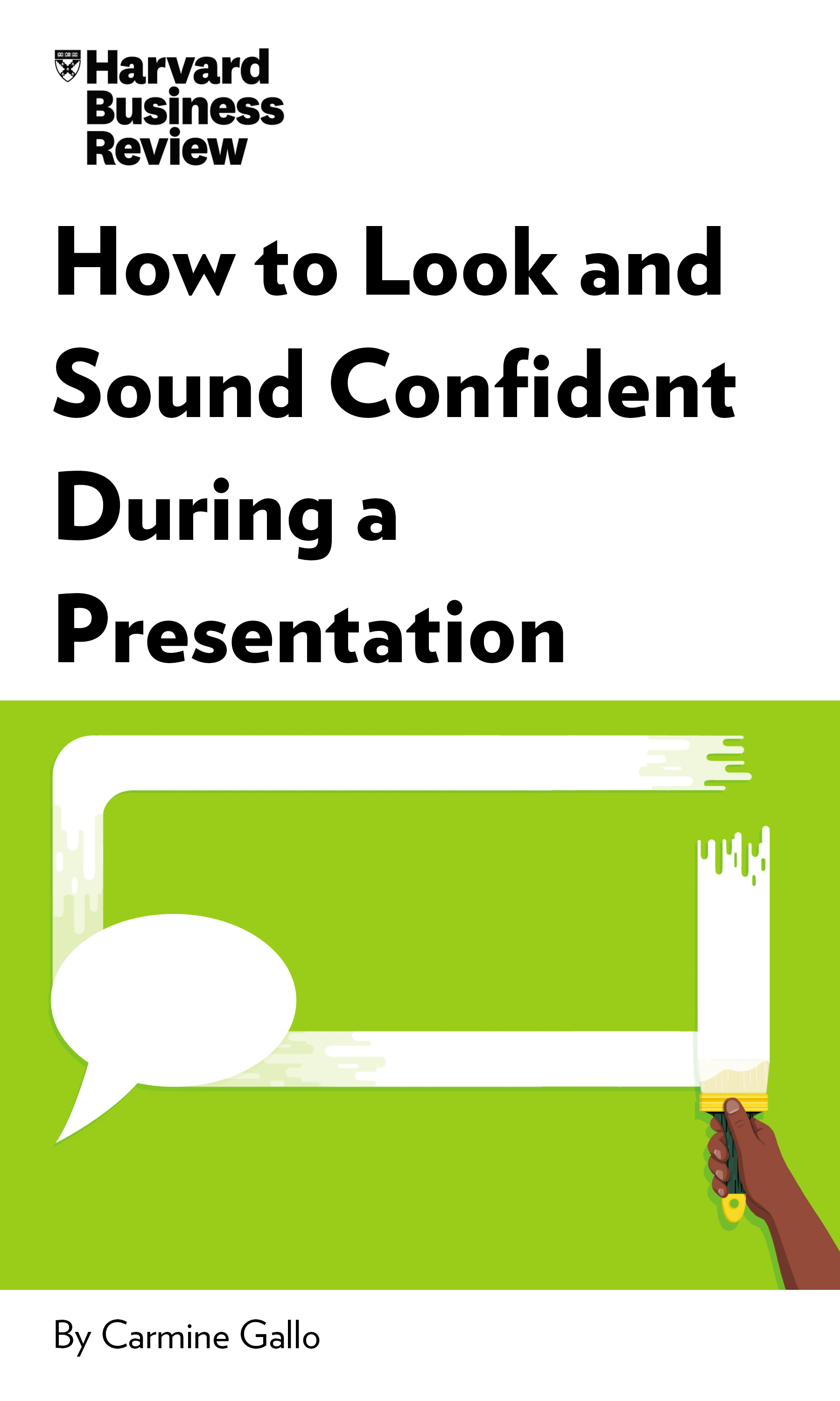 "Book Cover for ""How to Look and Sound Confident During a Presentation"""