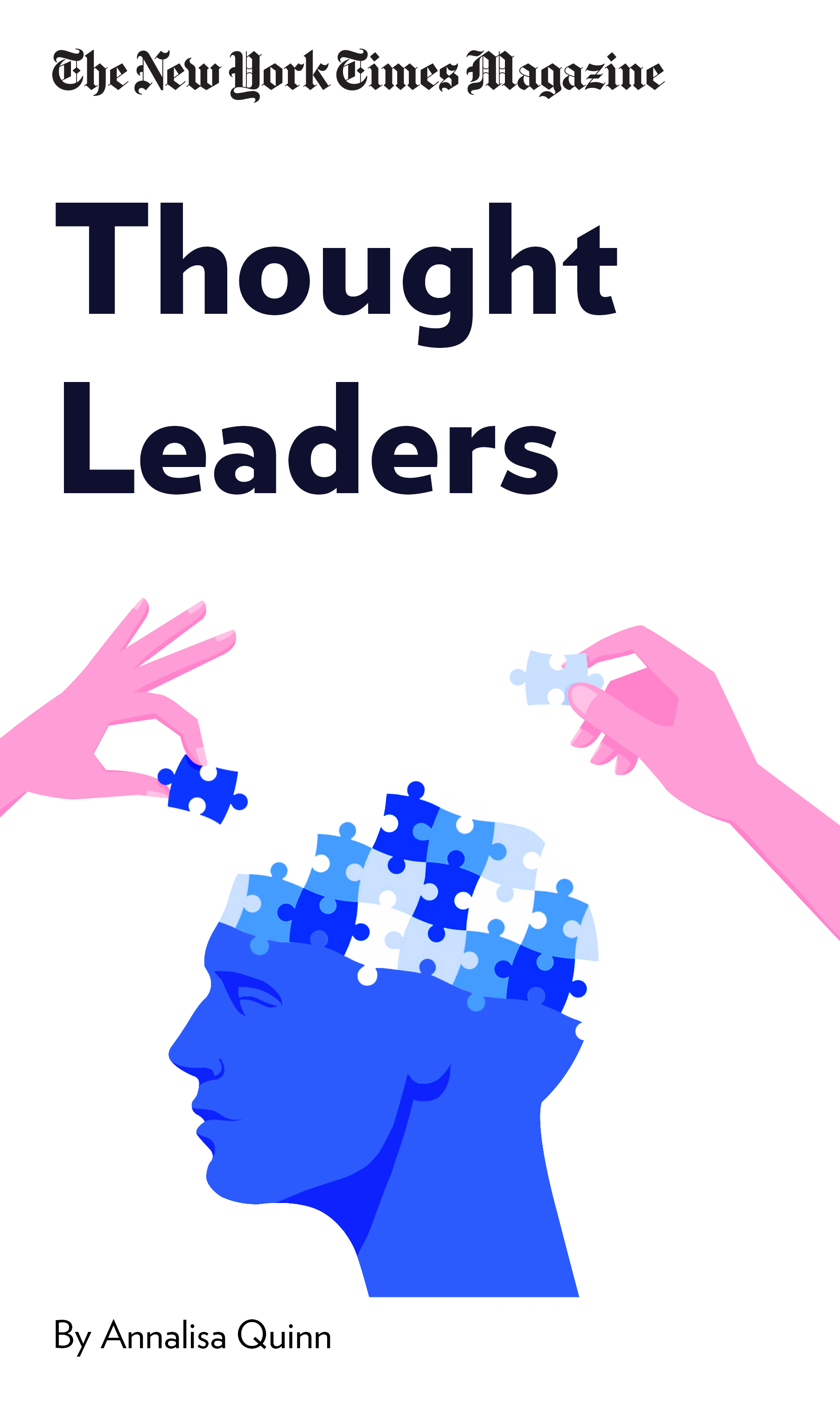 """Book Cover for """"Thought Leaders"""""""
