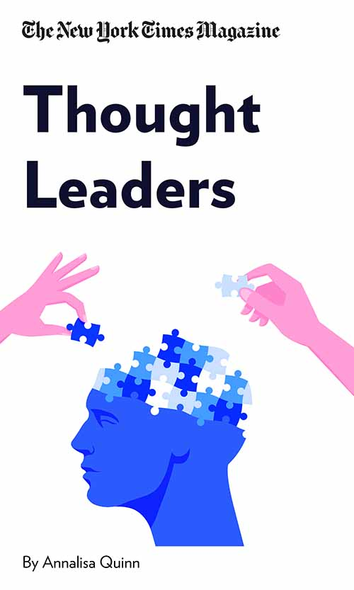 "Book Cover for ""Thought Leaders"""