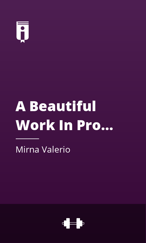 """Book Cover for """"A Beautiful Work In Progress"""""""
